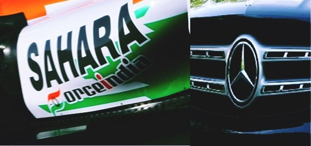 Auto brand Mercedes explores possible tie-up with Sahara Force India