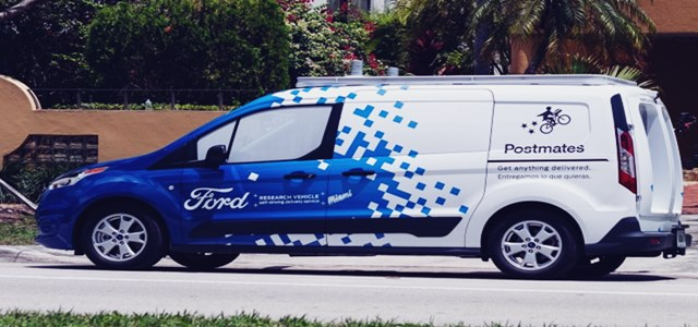 Automotive major Ford to test self-driving delivery van in Miami