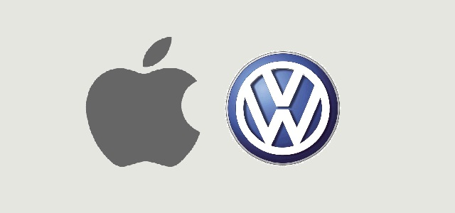 Apple & Volkswagen join hands to manufacture self-driving vans