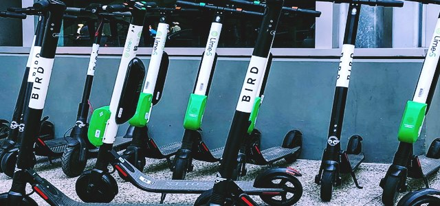 E-scooter start-ups Bird Rides and Lime looking for more funding