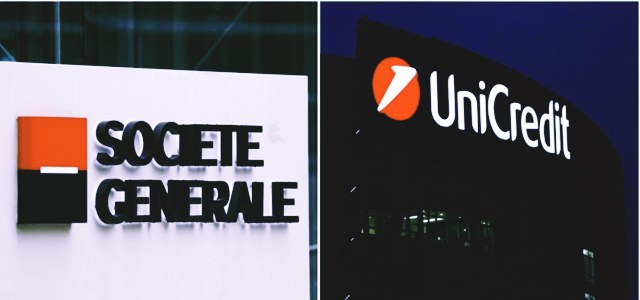 Italy's UniCredit mulls over plausible merger with French rival SocGen