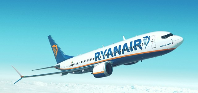 Ryanair places an order for 25 additional 747 MAX jets with Boeing