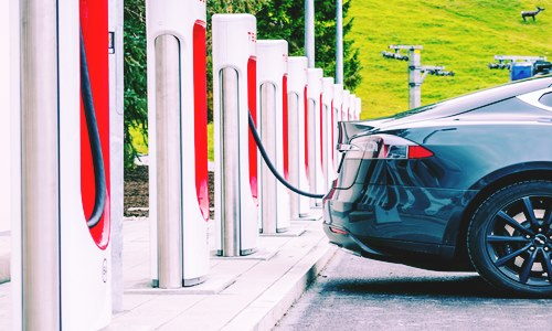 Tesla opens new 50-stall charging station in Kowloon bay, Hong Kong